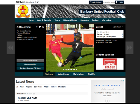 www.banburyunitedfc.co.uk