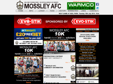 mossleyafc.co.uk