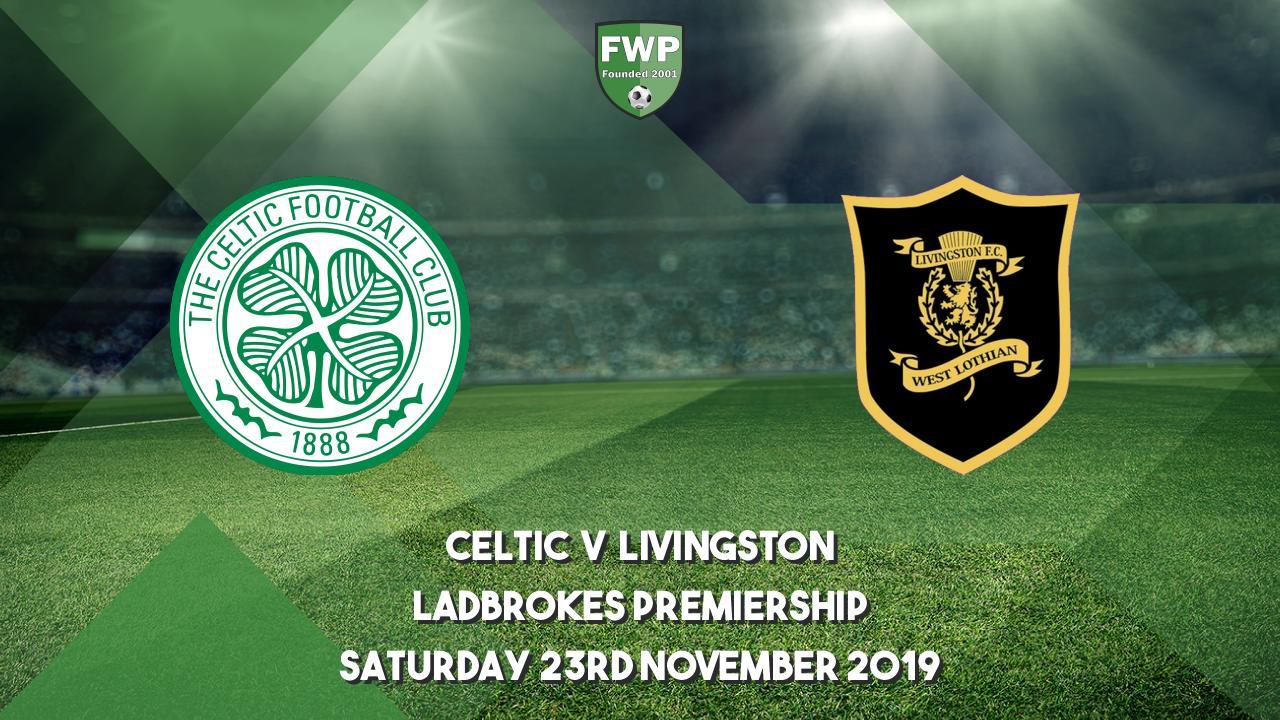 Ladbrokes Premiership Celtic 4 0 Livingston 2019 2020 Football Web Pages