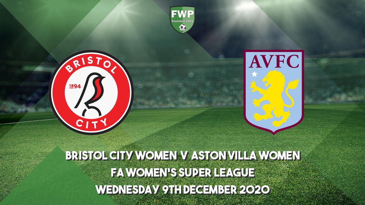 FA Women's Super League | Bristol City 0 - 4 Aston Villa ...